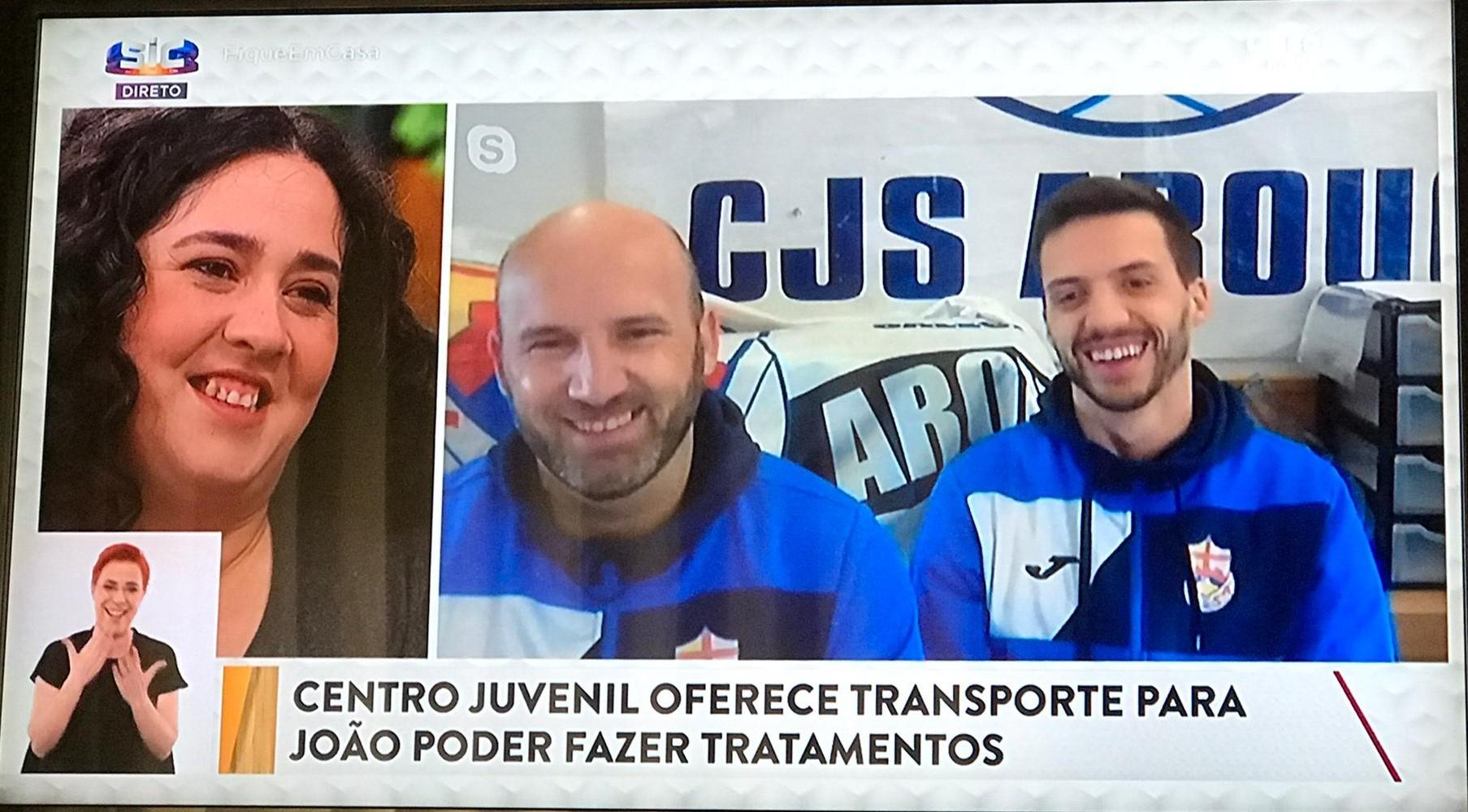 CJSA oferece transporte a João